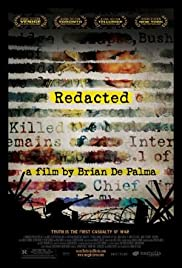 Redacted (2007) cover