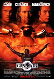 Con Air (Convictos en el aire) (1997) cover