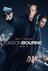Jason Bourne (2016) cover